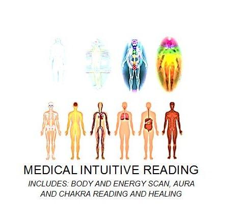 Medical Intuitive Reading Aura and chakra healing
