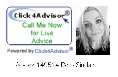 Click 4 advisor Debs Sinclair 149514 call now